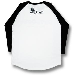 ファミリー/ラグラン/Tシャツ/七分袖/パロディ/サザエさん/バカ/アホ/スカル/ドクロ|alternativeclothing|02