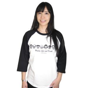 ファミリー/ラグラン/Tシャツ/七分袖/パロディ/サザエさん/バカ/アホ/スカル/ドクロ|alternativeclothing|04