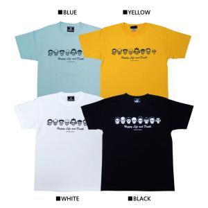 スカル・ファミリー/ドクロ/Tシャツ/黒/サザエさん/パロディ/メンズ/レディース|alternativeclothing|06