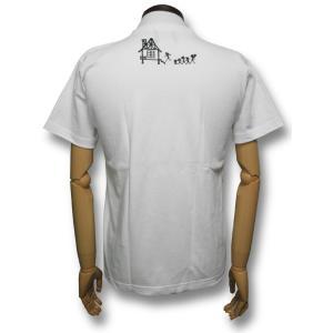 スカル・ファミリー/ドクロ/Tシャツ/白/サザエさん/パロディ/メンズ/レディース|alternativeclothing|02