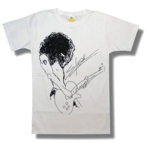 SLASH/スラッシュ/ポートレート/白/ロックTシャツ/バンドTシャツ/メンズ/レディース/GUNS'N'ROSES|alternativeclothing