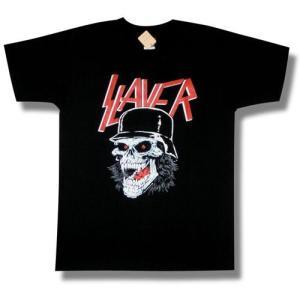スレイヤー/SLAYER/ドクロ/スカル/Tシャツ/メンズ/レディース/ロックTシャツ/バンドTシャツ|alternativeclothing