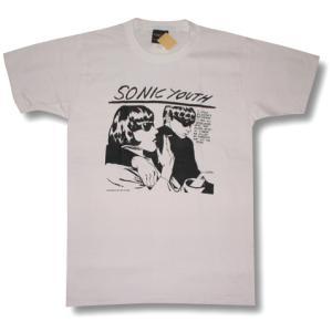 Tシャツ ソニックユース GOO 白  SONIC YOUTH ロックT バンドT|alternativeclothing