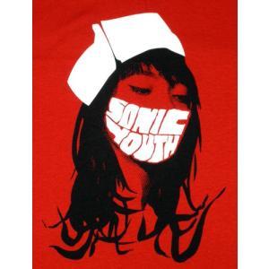 Tシャツ ソニック・ユース レッドナース SONIC YOUTH 赤 ロック バンド|alternativeclothing|02