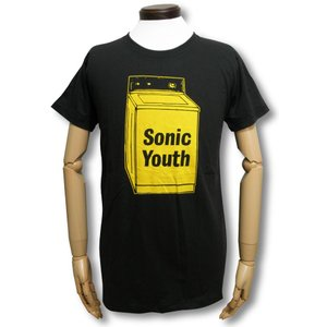 Tシャツ ソニック・ユース 洗濯機 WASHING MACHINE チャコール SONIC YOUTH ウォッシングマシーン ロックT バンドT|alternativeclothing