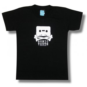 Tシャツ ソニックユース カセット 黒  SONIC YOUTH ロックT バンドT ブラック 半袖 メンズ レディース|alternativeclothing