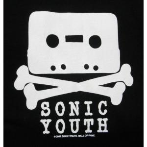Tシャツ ソニックユース カセット 黒  SONIC YOUTH ロックT バンドT ブラック 半袖 メンズ レディース alternativeclothing 02