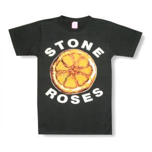 ストーンローゼス/レモン/STONE ROSES/チャコール/大ロゴ/ロックTシャツ/メンズ/レディース/バンドTシャツ/半袖|alternativeclothing