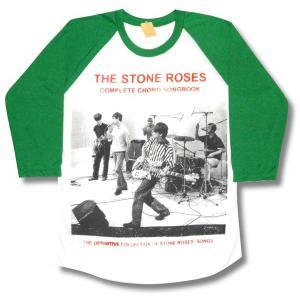 ストーンローゼス/THE STONE ROSES/ラグラン七分袖Tシャツ/メンズ/レディース/ロックTシャツ/バンドTシャツ|alternativeclothing