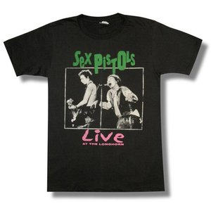SEX PISTOLS/セックスピストルズ/LIVE AT THE LONGHORN/ロックTシャツ/バンドTシャツ|alternativeclothing