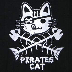 海賊ネコTシャツ/メンズ/レディース|alternativeclothing|02