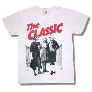 ザ・クラシック/Tシャツ/白/THE CLASH/クラッシュ/パロディ/capital radio one/ alternativeclothing