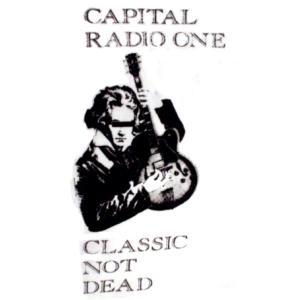 ザ・クラシック/Tシャツ/白/THE CLASH/クラッシュ/パロディ/capital radio one/ alternativeclothing 03