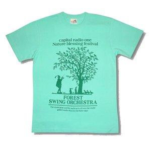 FOREST/フォレスト/ミントグリーン/キャピタルレディオワン/Tシャツ|alternativeclothing