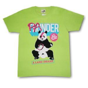 パンダTシャツ/メンズ/レディース/ライム/サンダー/バンドTシャツ|alternativeclothing