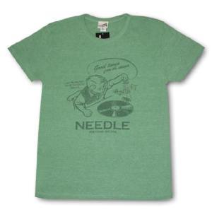 レコードプレーヤー/Tシャツ/緑/キャピタルレディオワン/ alternativeclothing