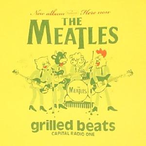 ミートルズ/THE MEATLES/パロディ/バンドTシャツ/メンズ/レディース/イエロー|alternativeclothing|02