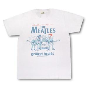 ミートルズ/パロディ/Tシャツ/メンズ/レディース/白|alternativeclothing