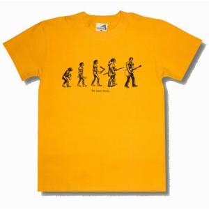 進化/Tシャツ/イエロー/キャピタル・レディオ・ワン/パロディ/メンズ/レディース|alternativeclothing