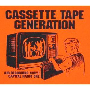 カセットテープ世代Tシャツ/キャピタルレディオワン/メンズ/レディース/オレンジ/|alternativeclothing|03