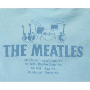 ミートルズ/パロディ/Tシャツ/メンズ/レディース/ライトブルー/バンドTシャツ/キャピタル・レディオ・ワン|alternativeclothing|03