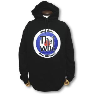 ザ・フー/THE WHO/ターゲット/メンズ/パーカー/黒|alternativeclothing