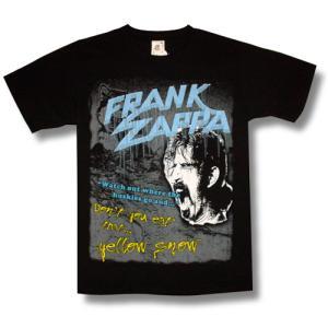 フランク・ザッパ/Don't eat the yellow snow/ロックTシャツ/バンドTシャツ alternativeclothing