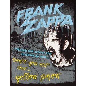 フランク・ザッパ/Don't eat the yellow snow/ロックTシャツ/バンドTシャツ alternativeclothing 02