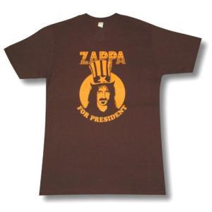 フランクザッパ/FRANK ZAPPA/PRESIDENT/大統領/プレジデント/ロックTシャツ/バンドTシャツ alternativeclothing