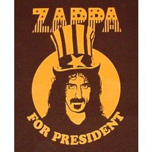 フランクザッパ/FRANK ZAPPA/PRESIDENT/大統領/プレジデント/ロックTシャツ/バンドTシャツ alternativeclothing 02