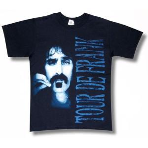 FRANK ZAPPA/フランク・ザッパTシャツ/紺/ロックTシャツ/バンドTシャツ|alternativeclothing