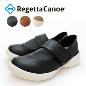 リゲッタカヌー RegettaCanoe   CJSR-7202 ステイバラウンド 異素材デザインワンベルトシューズ altolibro
