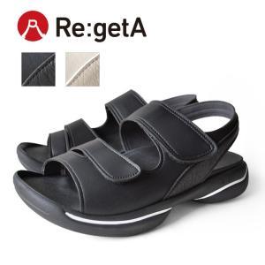 リゲッタ Re:getA JPR-010 グランスタイルベルクロサンダル/メンズ