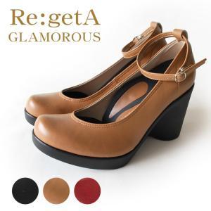 リゲッタグラマラス Re:getA GLAMOROUS RDD-001 ハイヒールアンクルベルトパンプス(9cmヒール)|altolibro