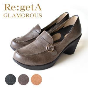 リゲッタグラマラス Re:getA GLAMOROUS RDD-61 ハイヒールローファーパンプス|altolibro