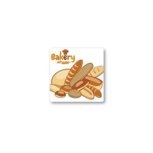 Bakery シール 350枚入り サイズ37×37mm  bakery5021|alucia