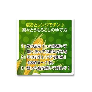 楽々とうもろこしのゆで方 シール 240枚 入り vegetable3342|alucia