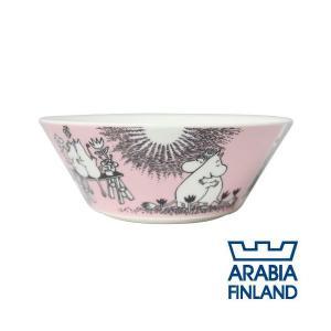 ARABIA アラビア Moomin ムーミン ボウル ラブ(ピンク) 15cm Love alude
