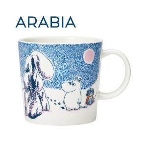 ARABIA アラビア Moomin ムーミン マグ クラウンスノーロード 300ml 2019年冬季限定 マグカップ alude