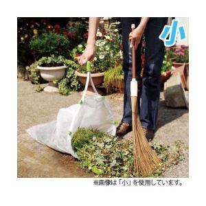 ゴミ袋をセットして楽々お掃除 ちりとり捨楽 小|alude