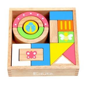 エデュテの木のおもちゃ SOUNDブロックス  10ヶ月から遊べる「音の鳴る積み木」SOUNDブロッ...