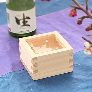 一合枡 檜のマス 日本製 東濃ひのきの一合升 結婚式 鏡開き