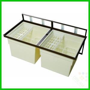 一般床下収納庫1200型・樹脂コーナーパーツ仕様 1200bdj 1200sdj alumidiyshop