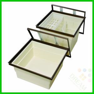 一般床下収納庫600型・樹脂コーナーパーツ仕様 浅型 6ad-1bj 6ad-1sj alumidiyshop