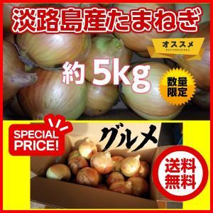 淡路島産玉ねぎ サイズ混合 Mサイズ以上 詰合せ 5kg たまねぎ タマネギ 減農薬栽培 おいしい 甘い うまい 美味しい 玉葱|alumidiyshop