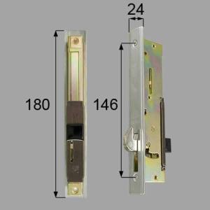 LIXIL/TOSTEM製玄関引戸用召合錠・内錠 召合せ内錠 AZWB513|alumidiyshop