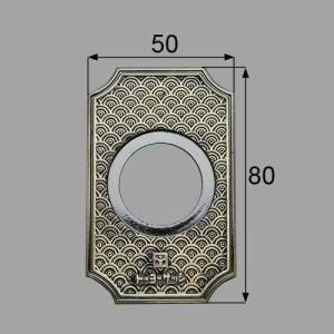 LIXIL/TOSTEM製玄関引戸用召合錠・内錠 召合せ外錠化粧板 AZWB514|alumidiyshop