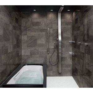 システムバスルーム スパージュ PXタイプ 1216(1200mm×1600mm)サイズ 全面張り 戸建1階用ユニットバス リクシル LIXIL 高級 浴槽 浴室 お風呂 リフォーム|alumidiyshop