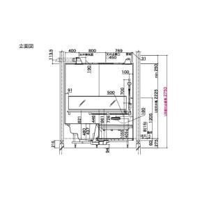 システムバスルーム アライズ Kタイプ 1620(1.25坪)サイズ アクセント張りB面 LIXIL リクシル 戸建用 住宅 ユニットバス 浴槽 浴室 お風呂 リフォーム|alumidiyshop|10