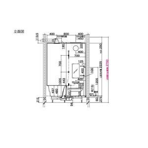 システムバスルーム アライズ Eタイプ S1216(0.75坪)サイズ アクセント張りB面 LIXIL リクシル 戸建用 住宅 ユニットバス 浴槽 浴室 お風呂 リフォーム alumidiyshop 10